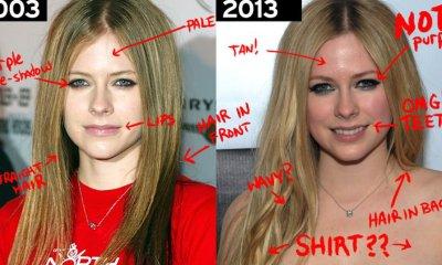 Avril Lavigne fue reemplazada por una doble