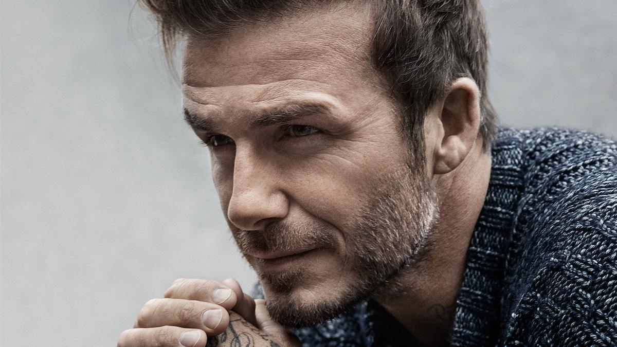 David Beckham cumple 42 años y está como los buenos vinos