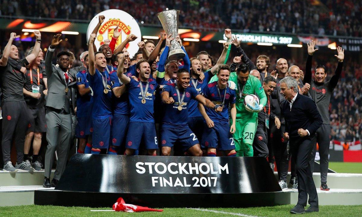 Manchester United se proclama campeón de la Europa League