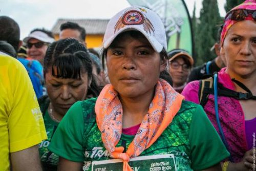 María, la campeona rarámuri del maratón