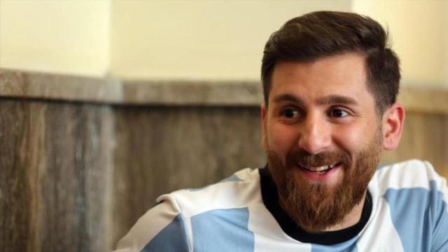 """""""Gemelo"""" de Lionel Messi causa furor en Irán"""