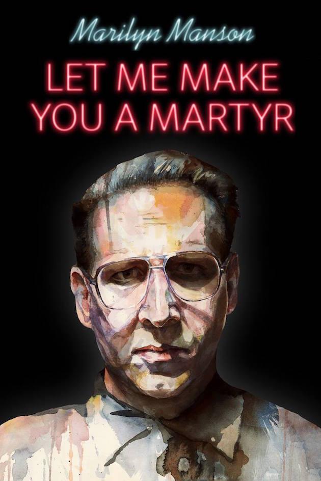 Cartel de la pelicula de Marilyn Manson