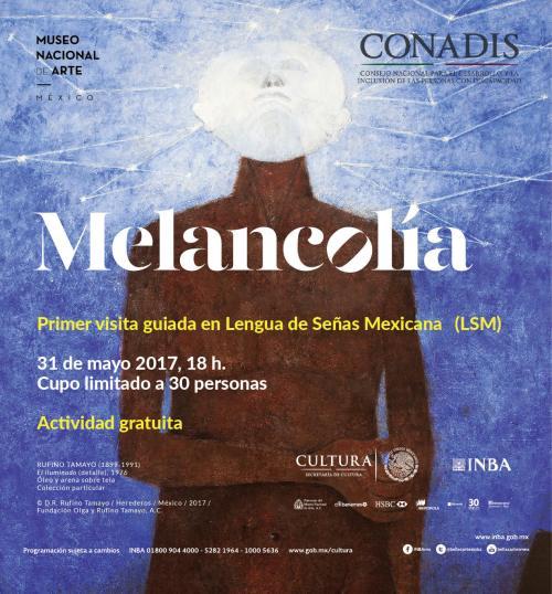 Melancolía en señas mexicanas desde el MUNAL
