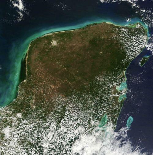 Yucatán desde las alturas