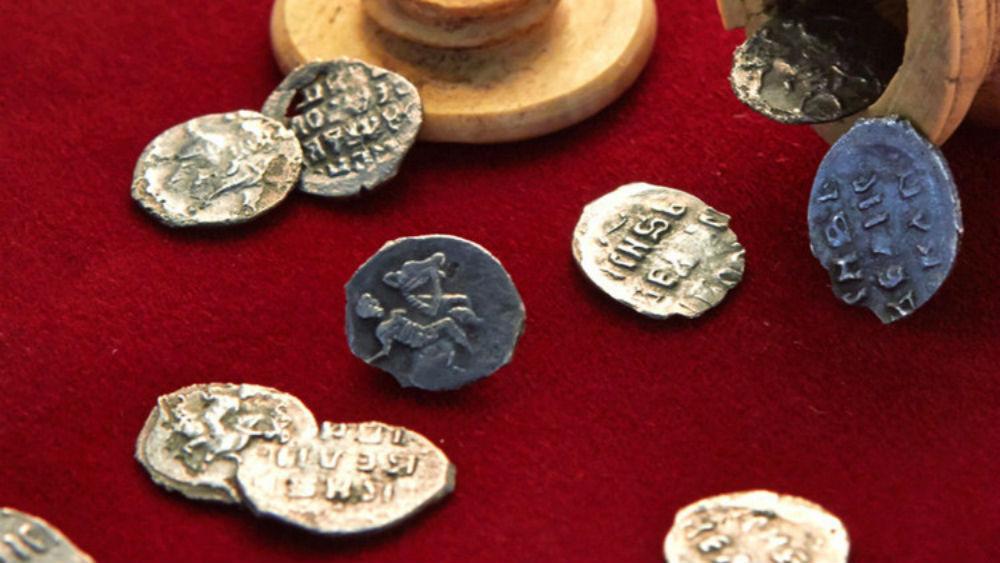 10 monedas de plata del siglo XVI fueron encontradas en Moscú, Rusia