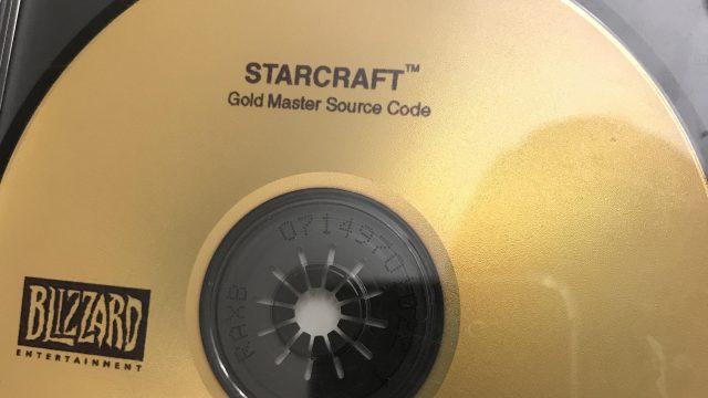 El código fuente de StarCraft que fue encontrado por un fan