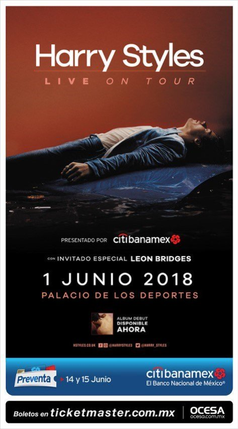 Empezaremos junio con un show de Harry Styles en México