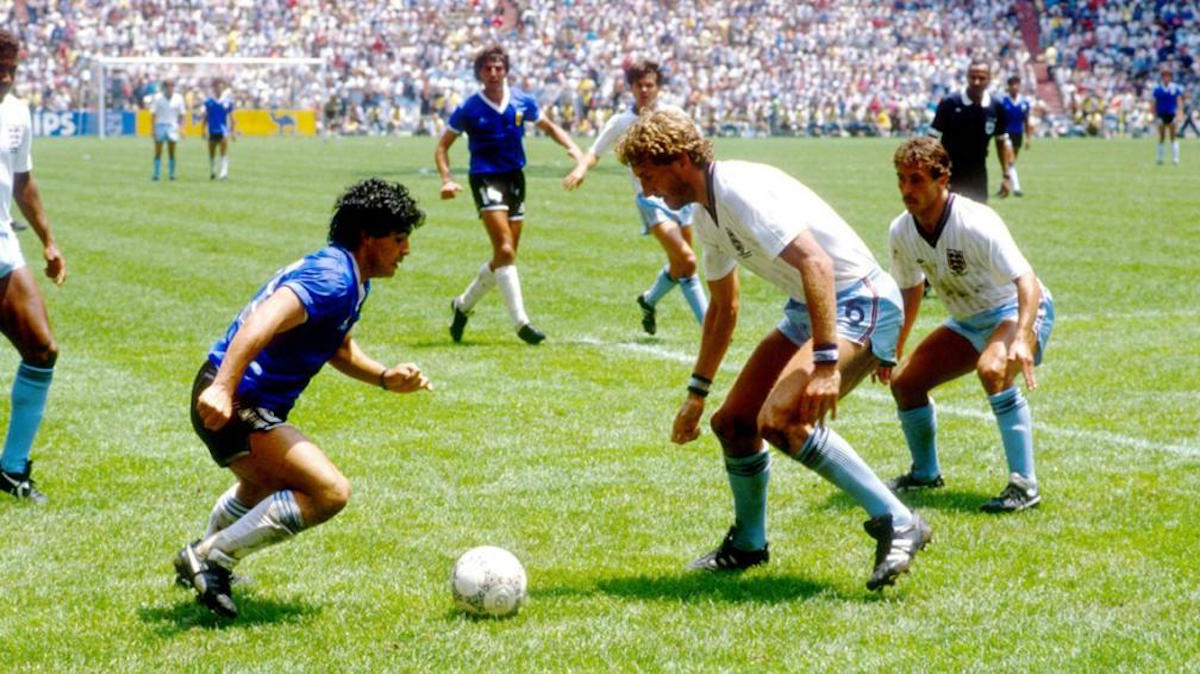 """Han pasado 31 años del """"Gol del Siglo"""" de Maradona y aún nos hace llorar"""