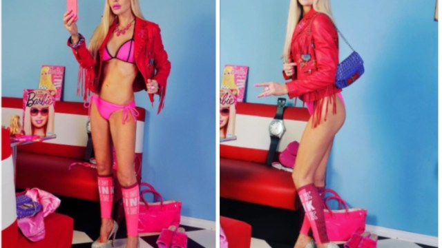 Señora gasta 40 mil dólares para ser una Barbie Humana