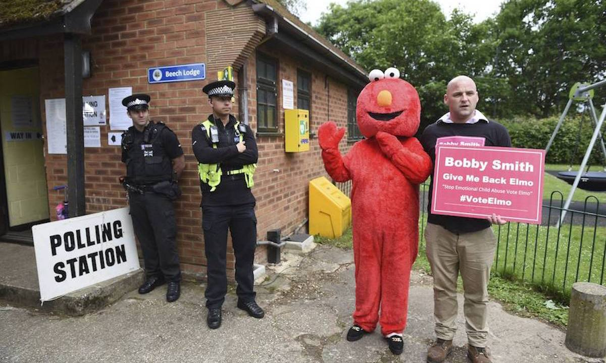 Conoce a los candidatos más extravagantes de las elecciones de Reino Unido