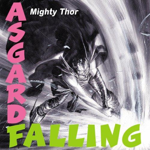 Thor destrozando Asgard como en la portade del London Calling de The Clash