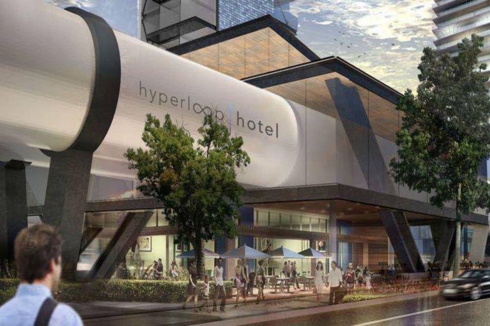 El hotel en el que podrás viajar
