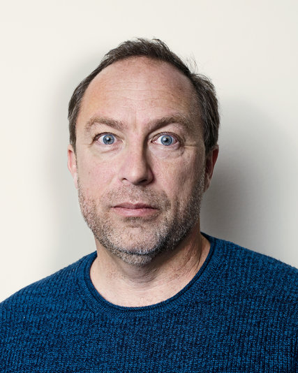Jimmy Wales, co-fundador de Wikipedia