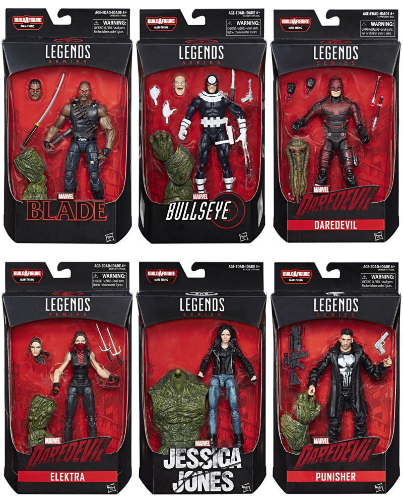 Marvel Knights Legends de Hasbro