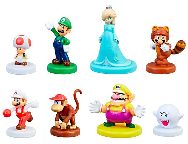 Personajes extras de Monopoly Gamer de Super Mario Bros