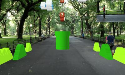 El primer nivel de Super Mario Bros en realidad aumentada