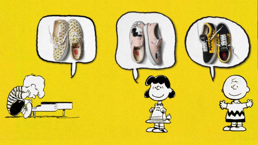 Vans lanza colección inspirada en Charlie Brown, Snoopy y compañía