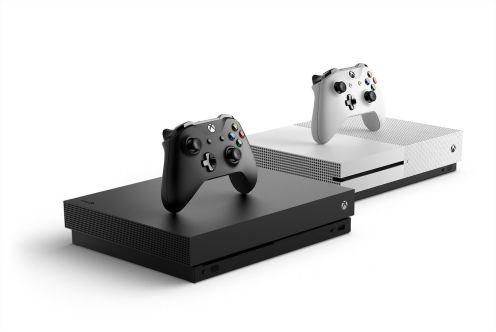 La Xbox One X comparada con la La Xbox One S
