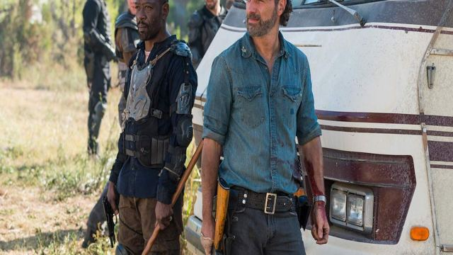 The Walking Dead vuelve a encontrarse con la muerte