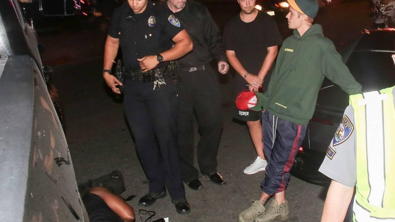 Justin Bieber atropella a un paparazzi