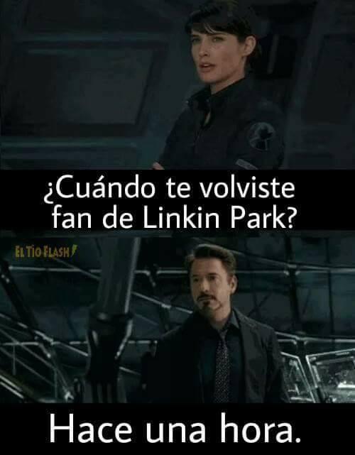 meme fans de linkin park