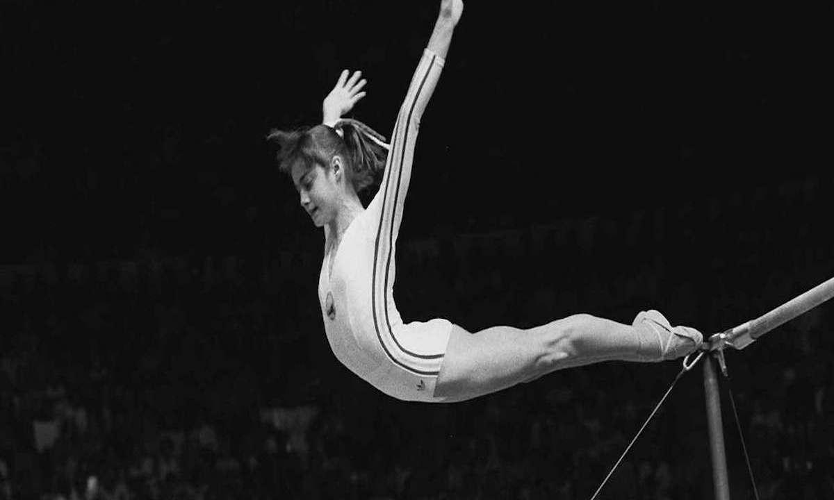 Se cumplen 41 años del 10 de la gimnasta Nadia Comaneci