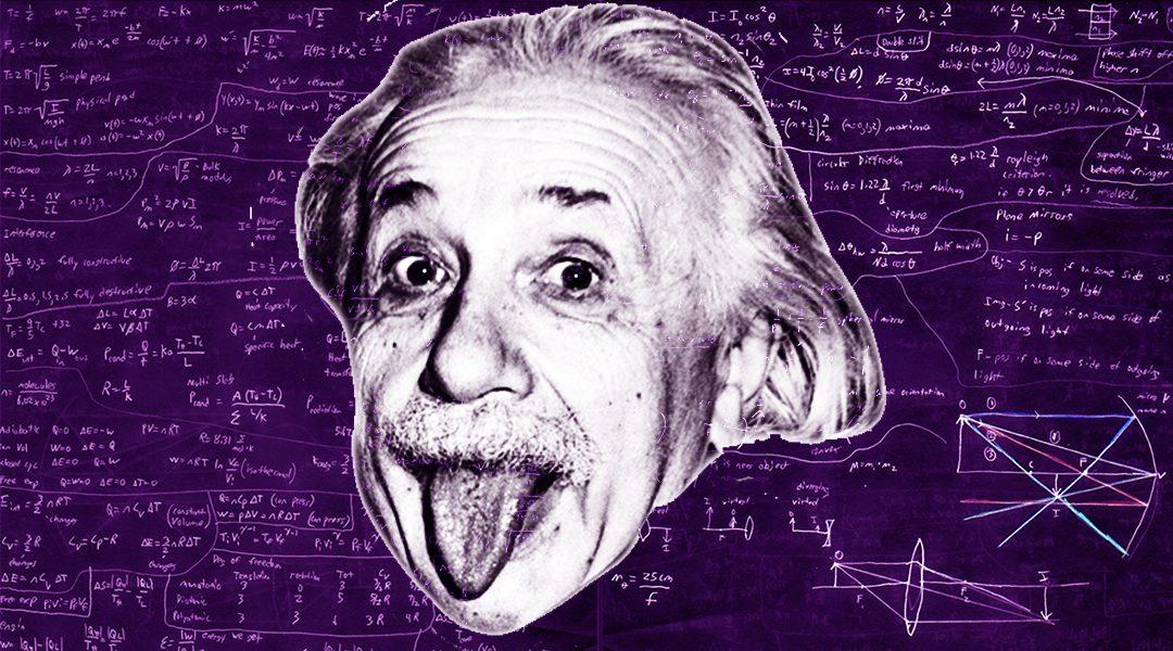 La historia detrás de la foto de Albert Einstein sacando la lengua