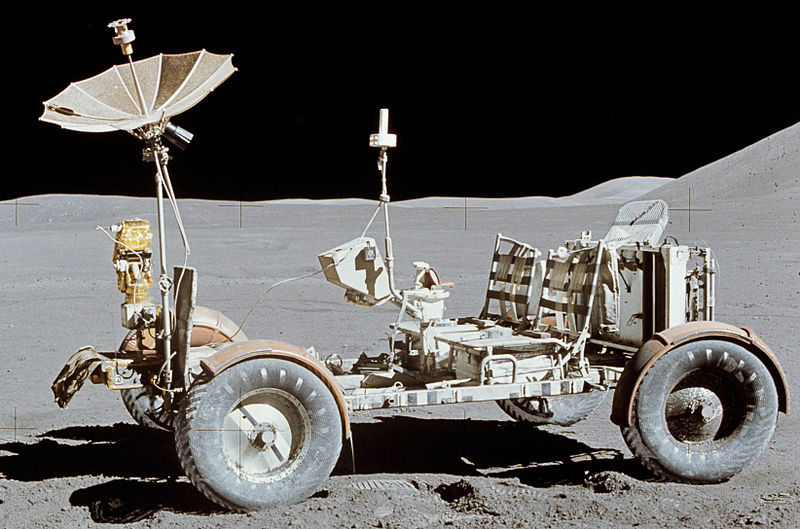 Rover Lunar de la misión Apollo 15