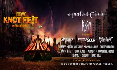 Knotfest 2017 traerá a A Perfect Circle a México