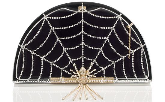 Charlotte Olympia colección spider man bolsa araña