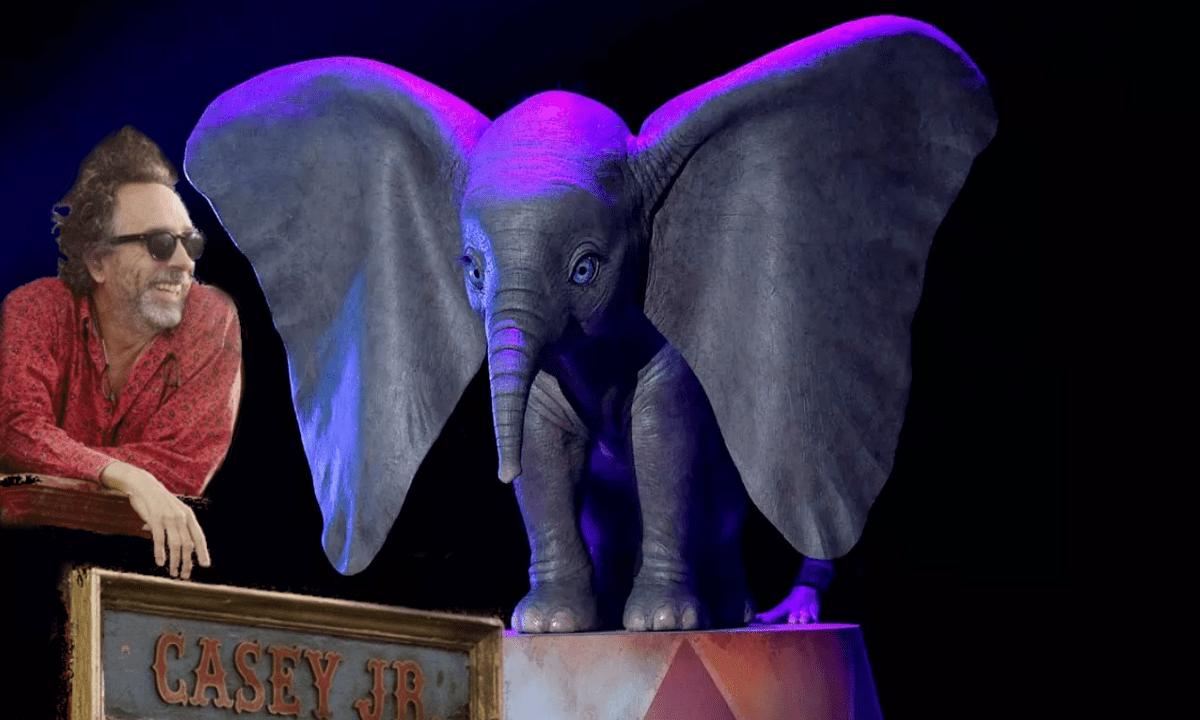Tim Burton dirigirá Dumbo