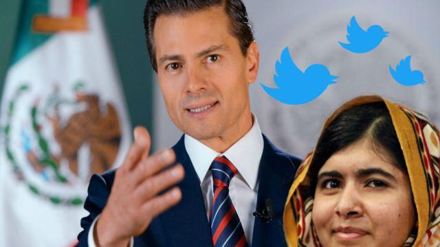Peña Nieto recibió respuesta de todos menos de malala