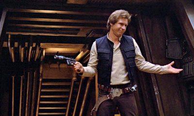Harrison Ford como Han Solo en El regreso del Jedi