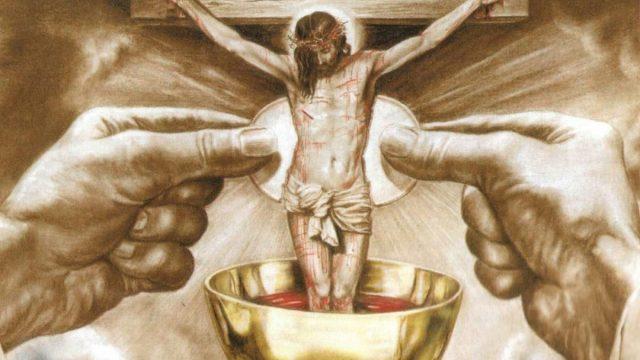 La Iglesia enseña la transubstanciación de las hostias