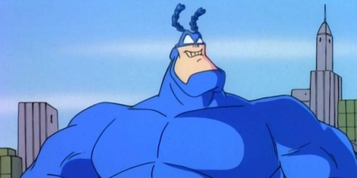 La Garrapata en la serie animada de los 90