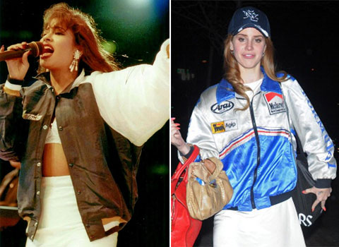 Lana del Rey copia a Selena Quintanilla