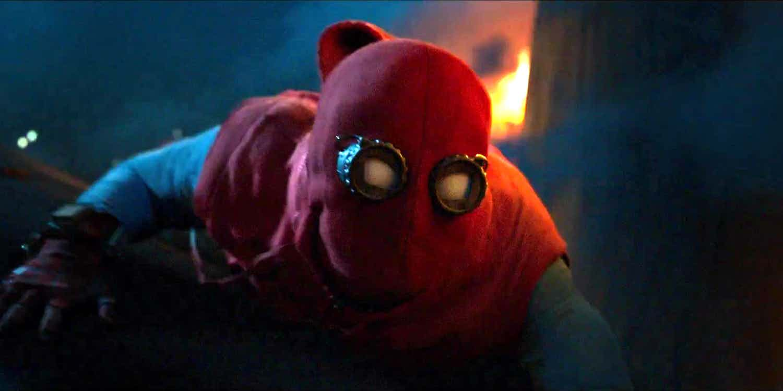 Spider-Man interpretado por Tom Holland en Spider-Man: Homecoming