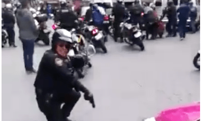 Taxista reportero narra a su estilo un operativo policíaco