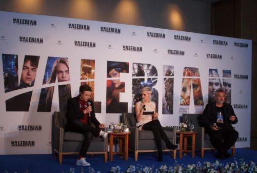 Conferencia de prensa México Valerian