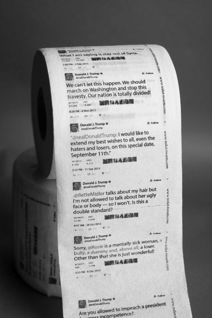 Los Tweets de Trump en Papel de Baño