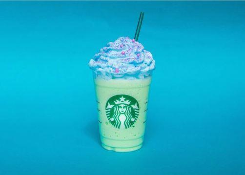mermaid frappuccino llega a México