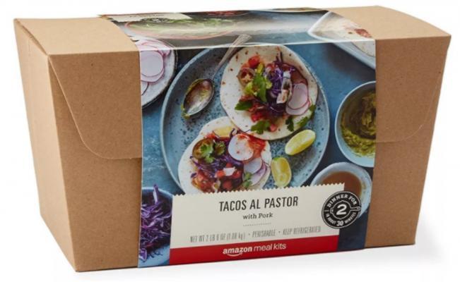 Amazon vende tacos al pastor
