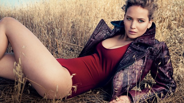 Jennifer Lawrence en la portada de Vogue