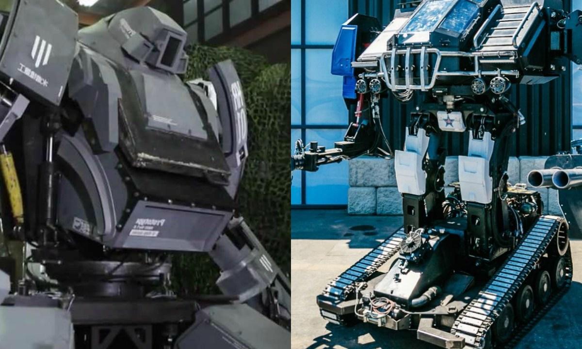 Los robots de pelea de Suidobashi y Megabots