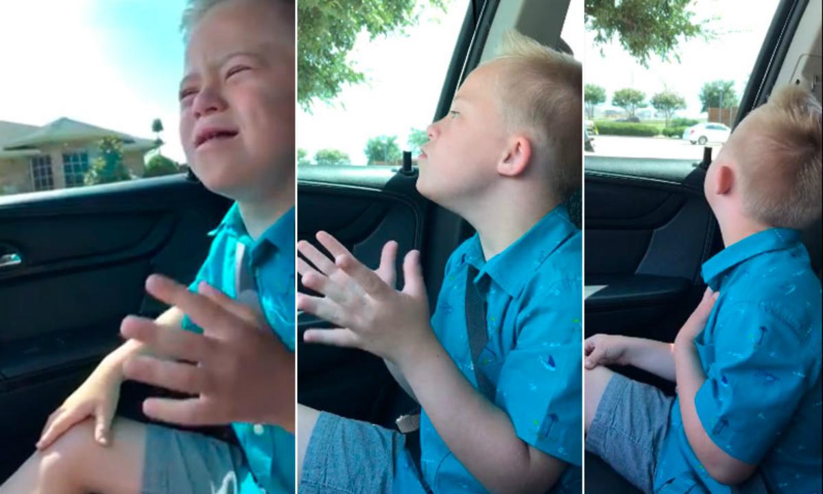 Niño Down conquista cantando Whitney Houston
