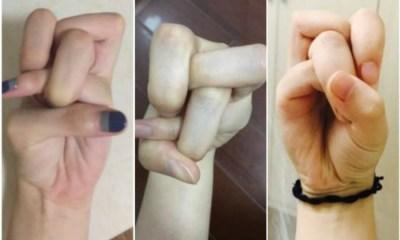 nuevo reto chino nudo con los dedos