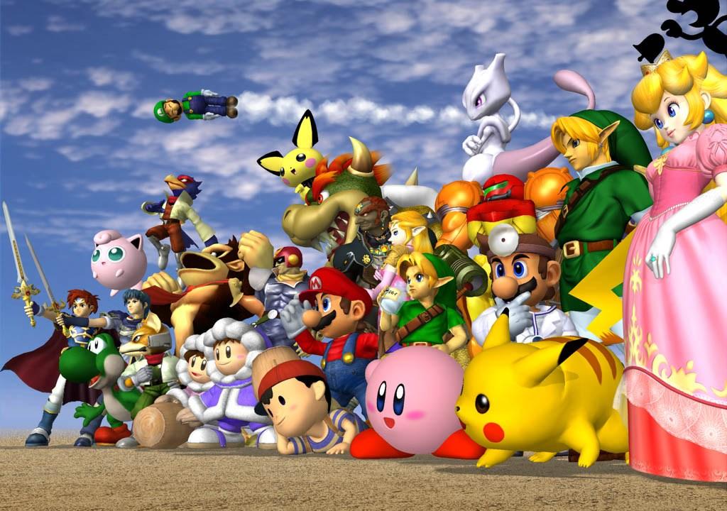 Los personajes de Super Smash Bros Melee