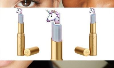 Así se ve el lipstick lagrimas de unicornio