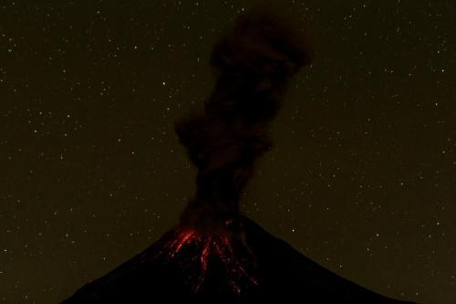 Volcán de Fuego, Colima,