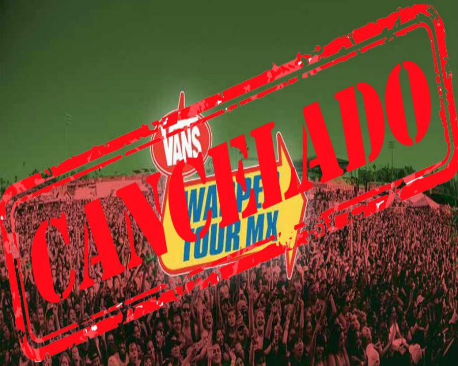 Cancelan el Vans Warped Tour México